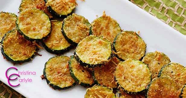 Zucchini-Parmesan-Chip Recipe by Christina Carlyle