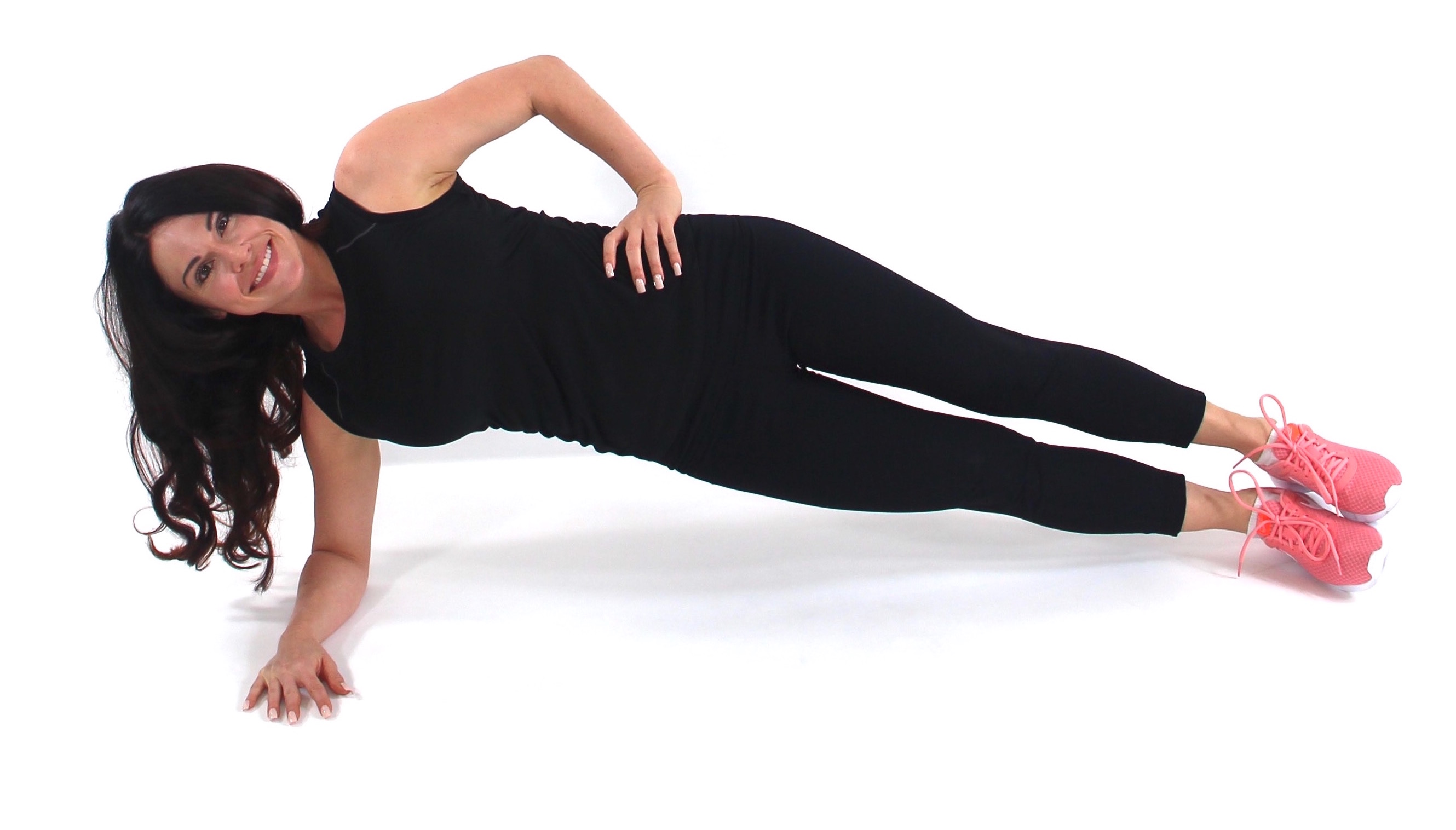 Side Plank Exercise Christina Carlyle