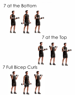 21's bicep exercise christina carlyle - Christina Carlyle