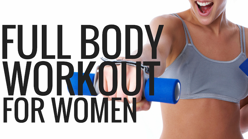 full body workout for women - Christina Carlyle