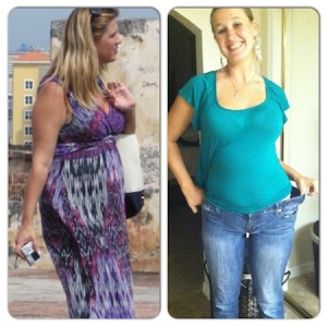 Heather success story before and after Mind Right, Body Tight christina carlyleJPG