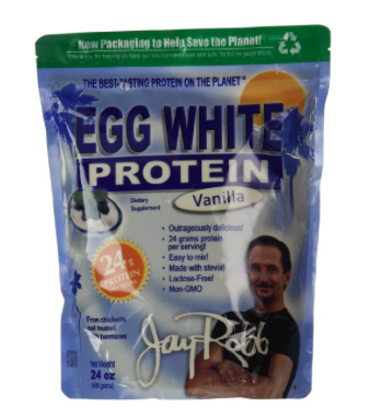 Jay Robb Egg White Vanilla Protein Powder