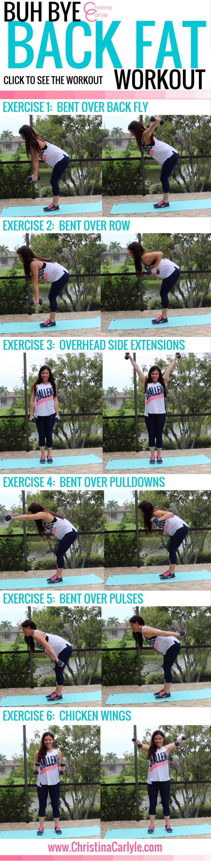 Exercises for Back Fat - Christina Carlyle