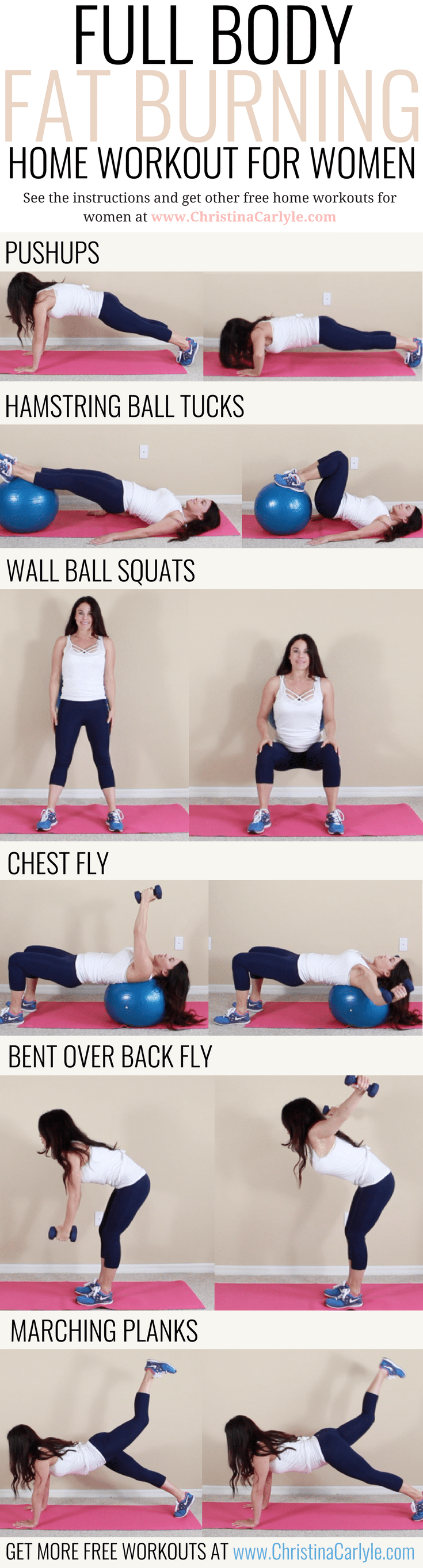 Full Body Fat Burning Workout Routine for Women