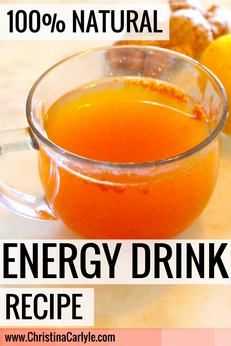 Natural Energy Drink - Christina Carlyle