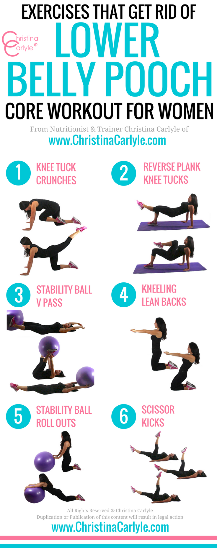 Exercises that Get Rid of Lower Belly (Pooch) Fat ...