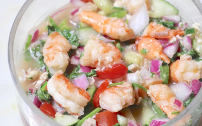 Healthy Ceviche Recipe – Easy, Delicious, Low Carb, Low Calorie
