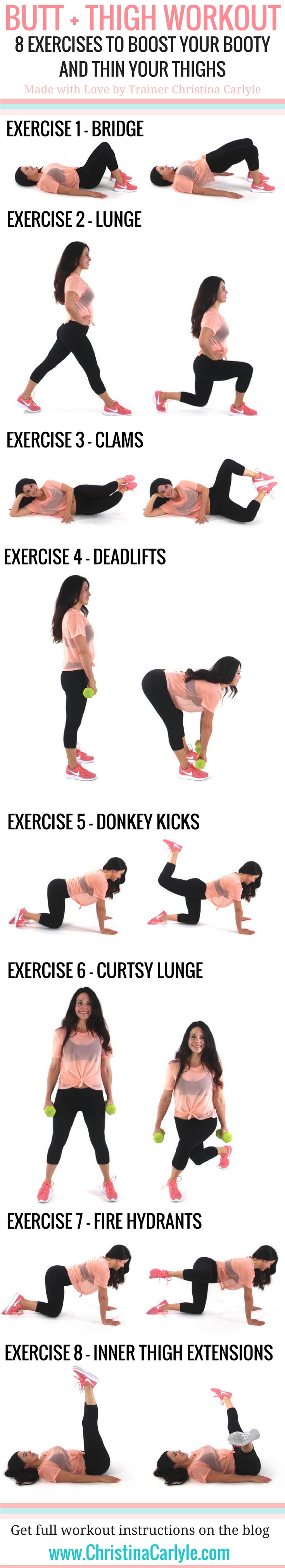 Butt Thighs Workout 99