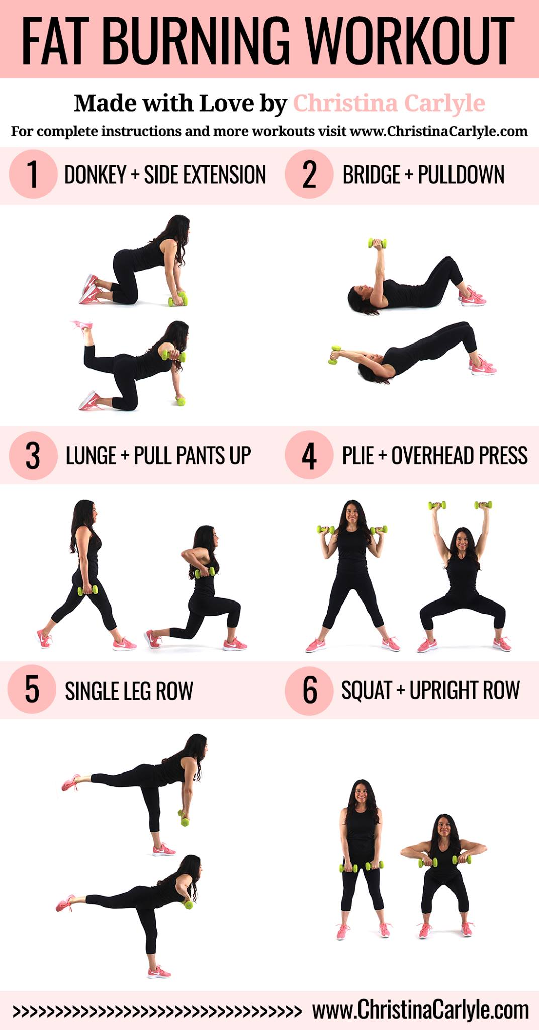 fat burning workout | This fat burning workout burns calories quickly and will help you burn fat faster.  It combines low impact exercises so you can do this fat burning workout at home.  This workout is perfect for busy mom's.