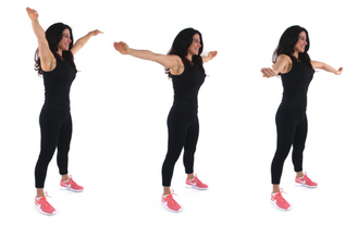 CC beginner arm exercise done by Christina Carlyle