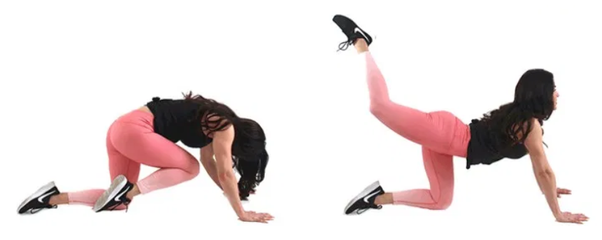 Knee Tuck Crunch Ab Exercise for Women Christina Carlyle