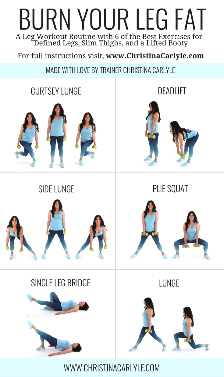 Leg Workout Routine For Women