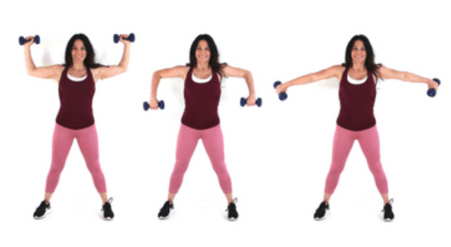 trouble u hiit exercise done by Christina Carlyle