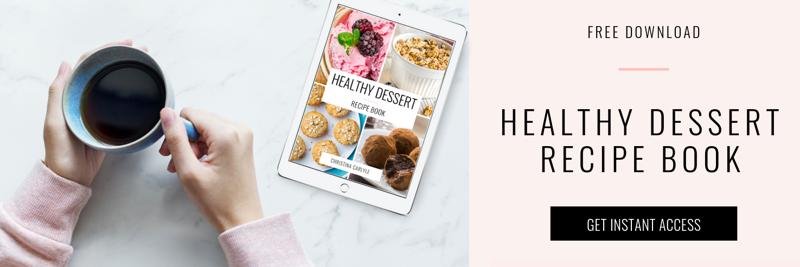 Free Healthy Dessert Recipe Book Christina Carlyle